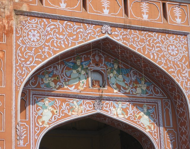 Jaipur détails porte