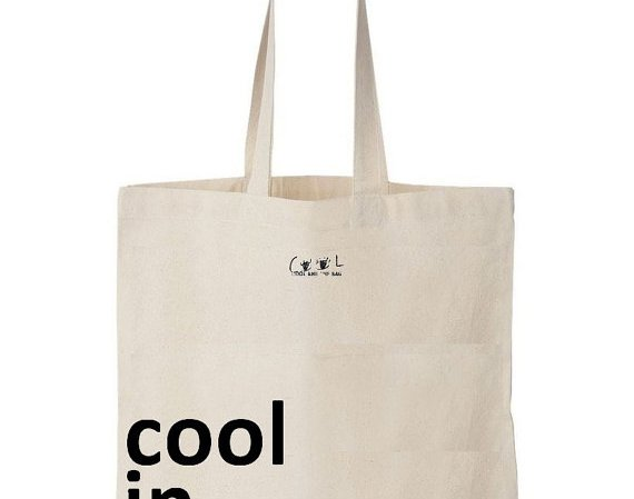 Tote bag Cool in Paris