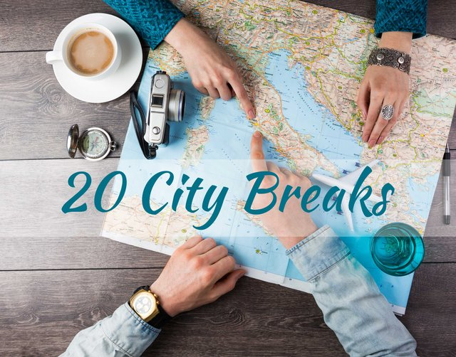 20 City breaks by Good Morning